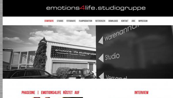 Startseite emotions4life Studiogruppe